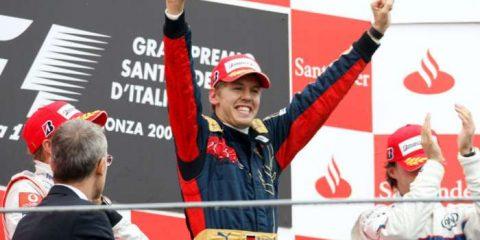 سباستین فتل گرندپری 2008 ایتالیا