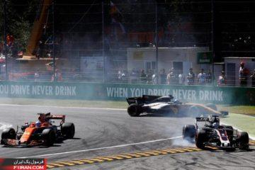 فرناندو آلونسو - مسابقه فرمول یک ایتالیا 2017