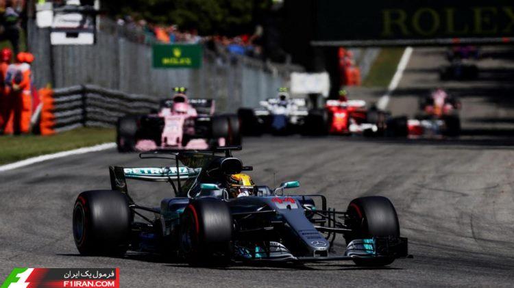 لوییس همیلتون - مسابقه فرمول یک ایتالیا 2017