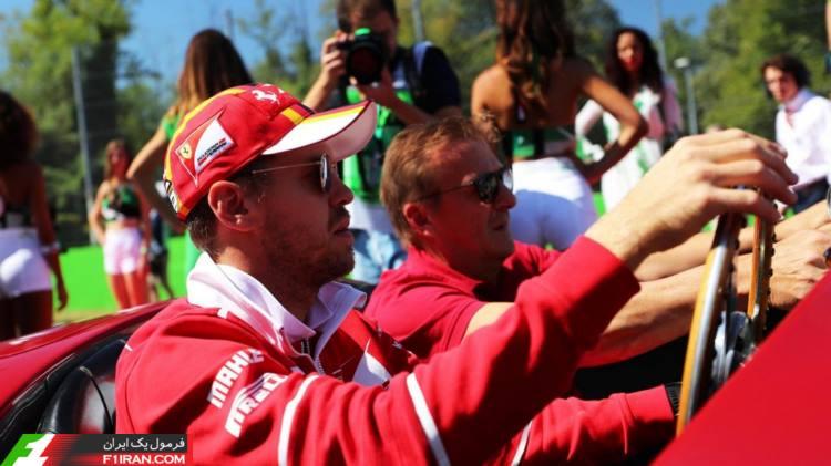 سباستین فتل - مسابقه فرمول یک ایتالیا 2017