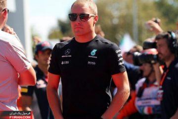 والتری بوتاس - مسابقه فرمول یک ایتالیا 2017
