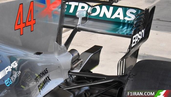 ماشین W08 تیم مرسدس