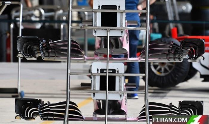 ماشین VJM10 تیم فورس ایندیا
