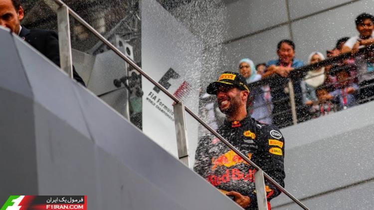 دنیل ریکاردو - مسابقه گرندپری مالزی 2017