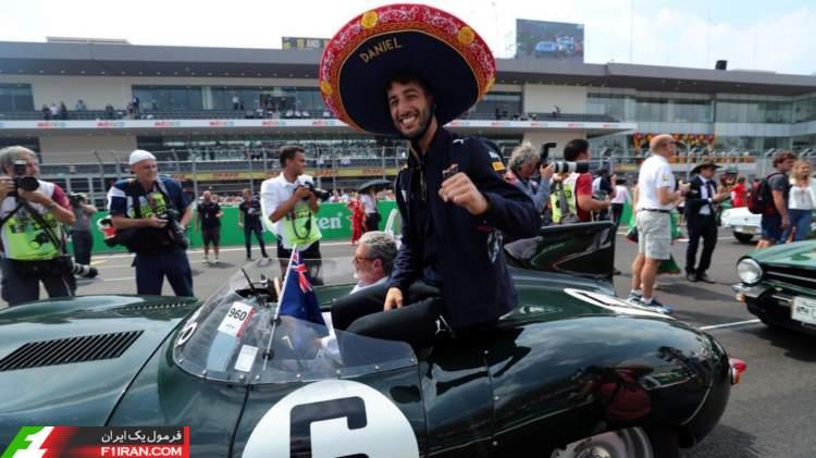دنیل ریکاردو - گرندپری مکزیک 2017