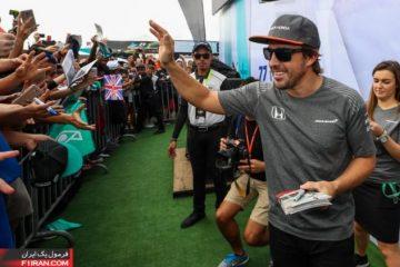 فرناندو آلونسو - مسابقه گرندپری مالزی 2017