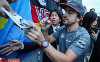 فرناندو آلونسو - گرندپری ژاپن 2017