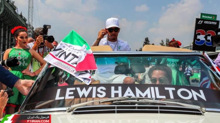 لوییس همیلتون - گرندپری مکزیک 2017