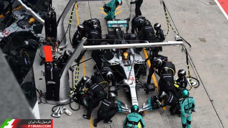 لوییس همیلتون - مسابقه گرندپری مالزی 2017