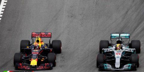 مکس ورشپتن و لوییس همیلتون - مسابقه گرندپری مالزی 2017