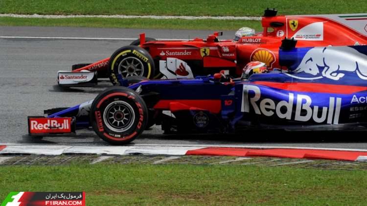 پیر گسلی و سباستین فتل - مسابقه گرندپری مالزی 2017