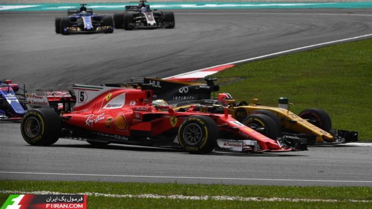 سباستین فتل - مسابقه گرندپری مالزی 2017