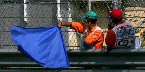 پرچم آبی Blue flag