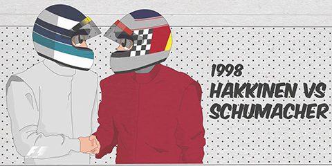 hakkinen vs schumacher