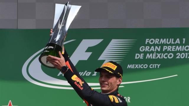 مکس ورشتپن - برنده مسابقه مکزیک 2017