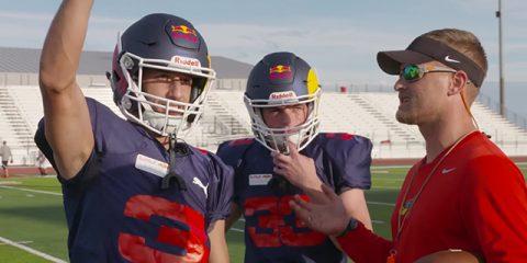 فوتبال آمریکایی مکس وشتاپن و دنیل ریکیاردو