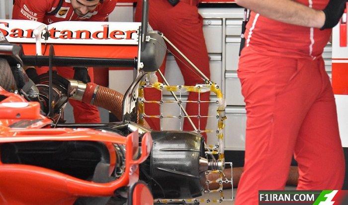 ماشین SF70H تیم فراری