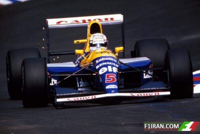 ویلیامز FW14 - 14b (1991-92)
