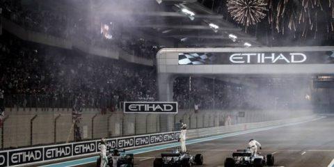 شادی بعد از مسابقه ابوظبی - 2017