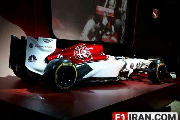 خودروی تیم فرمول یک سائوبر