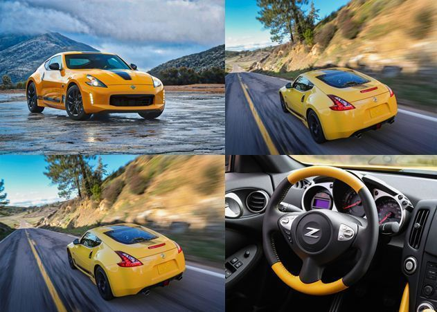 نیسان 370Z مدل Chicane Yellow