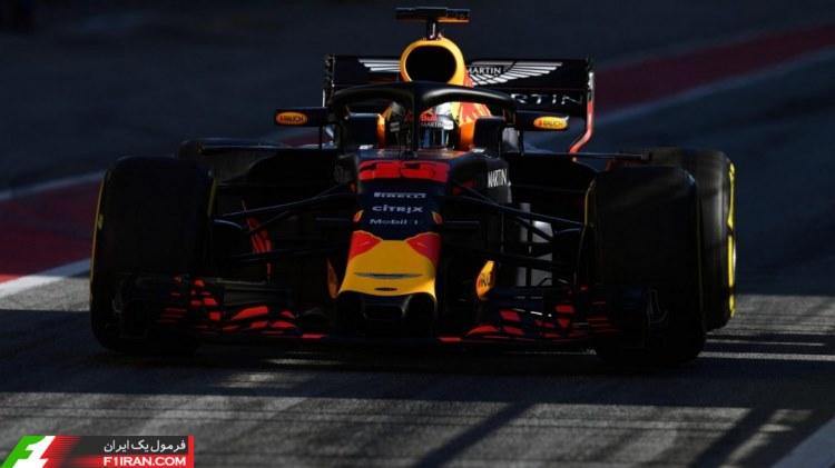 مکس ورشتپن - روز اول هفته دوم تست بارسلونا 2018