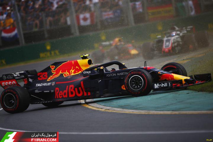 مکس ورشتپن - مسابقه گرندپری استرالیا 2018