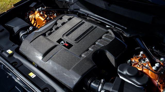 موتور 5 لیتری V8 سوپرشارژ