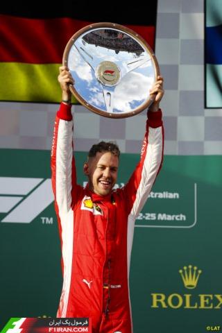 سباستین فتل - مسابقه گرندپری استرالیا 2018