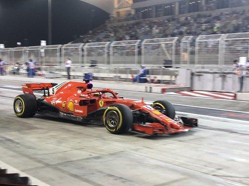 سباستین فتل، مسابقه فرمول یک بحرین