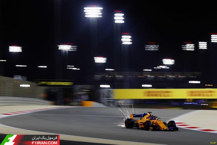 فرناندو آلونسو - مسابقه گرندپری بحرین 2018