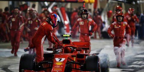 کیمی رایکونن - مسابقه گرندپری بحرین 2018