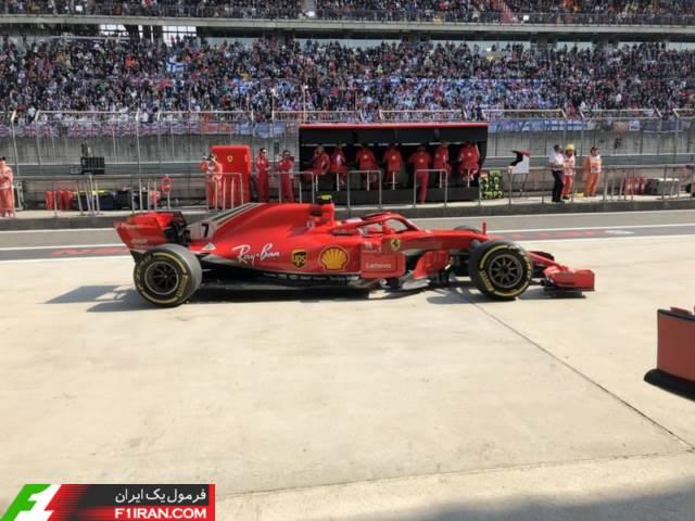 کیمی رایکونن - مسابقه گرندپری چین 2018