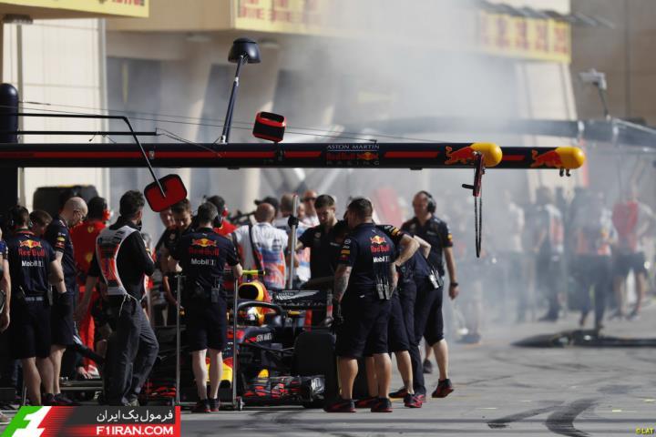 مکس ورشتپن - مسابقه گرندپری بحرین 2018