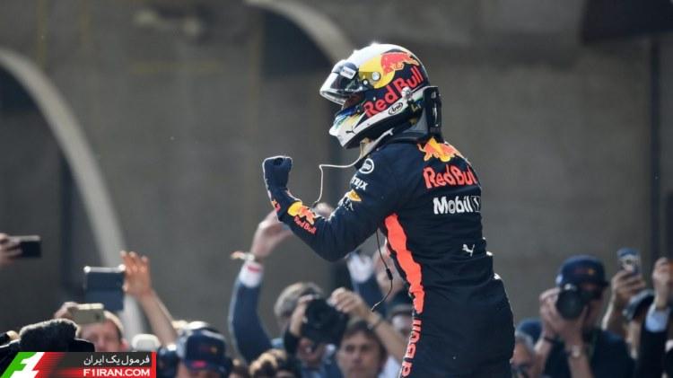 دنیل ریکاردو - مسابقه گرندپری چین 2018