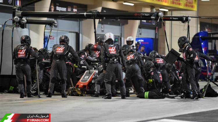 رومن گروژان - مسابقه گرندپری بحرین 2018