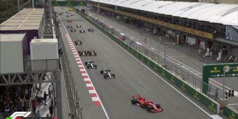 استارت - مسابقه گرندپری آذربایجان 2018
