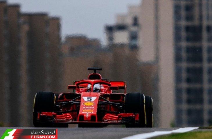 سباستین فتل- مسابقه گرندپری چین 2018