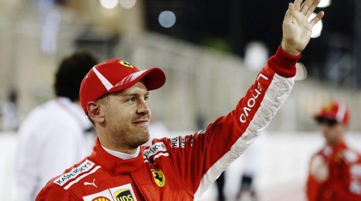 سباستین فتل - مسابقه گرندپری بحرین 2018