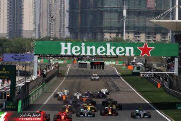 استارت - مسابقه گرندپری چین 2018