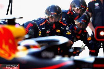 پیتاستاپ دوتایی تیم ردبول - مسابقه گرندپری چین 2018