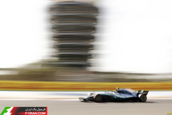 والتری بوتاس - مسابقه گرندپری بحرین 2018
