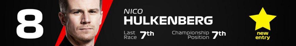 8- نیکو هالکنبرگ ؛ رنو