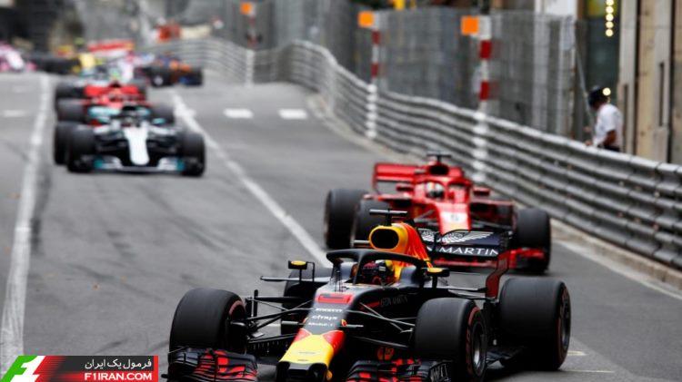 دنیل ریکاردو - مسابقه فرمول یک موناکو 2018