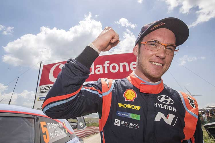 Rally Portugal 2018 Thierry_Neuville