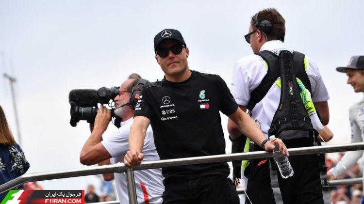 والتری بوتاس - مسابقه فرمول یک موناکو 2018
