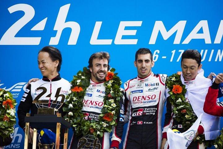 Alonso , Buemi , Nakajima
