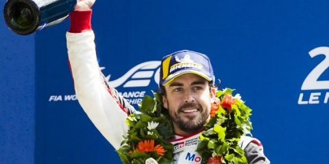Fernando Alonso 24hr le mans winner