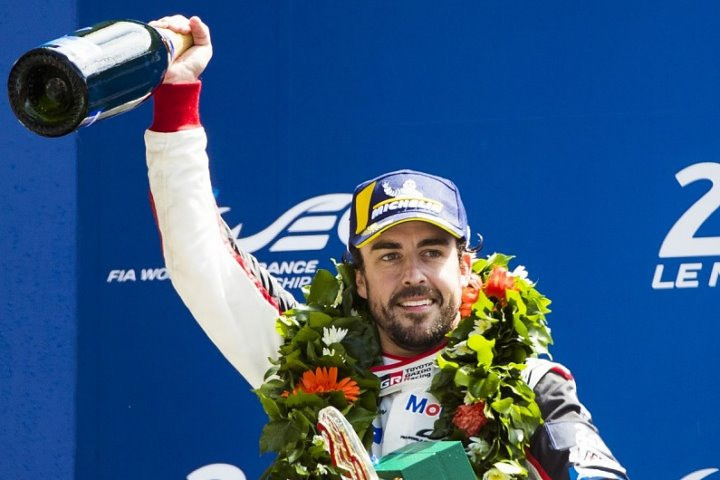 Fernando Alonso 24hr le mans winner