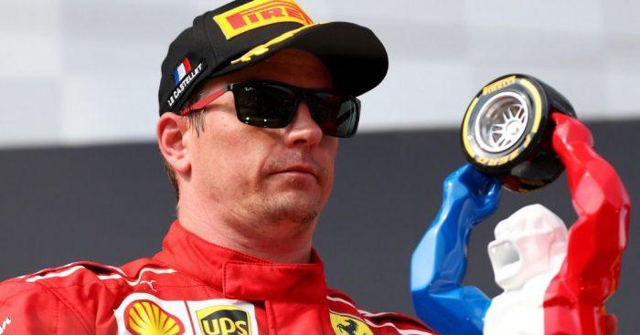 Kimi Raikkonen French GP 2018